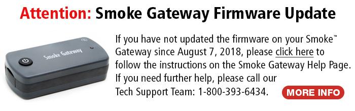 Smoke Gateway Firmware Update